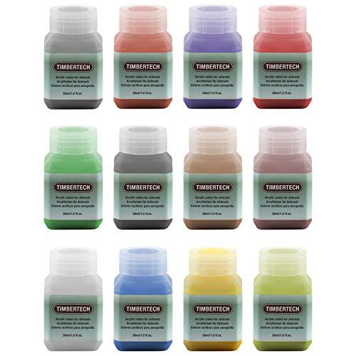 Brrnoo Polvere Fluorescente, 3 * 100 g Pigmenti luminescenti Professionali Colore Fosforescente Fotoluminescenza Alluminio Non tossico Alluminio Stronzio Luci al Neon Notti di pigmento Scuro