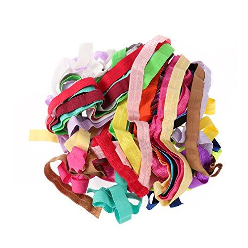 TUKA 40 Metri Elastica Banda, Fascia Elastici Piatto Cucito Nastro, per Cucire Craft Accessories, Abiti Personalizzati, 40 Metri di Lunghezza, Disponibile in Diversi Colori e Dimensioni