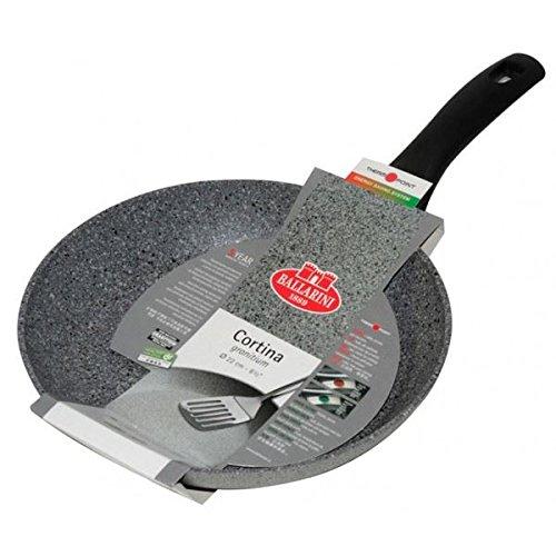 culinario – Coperchio Universale per pentole e padelle, in Vetro con Bordo di Silicone, Disponibile in 2 Misure