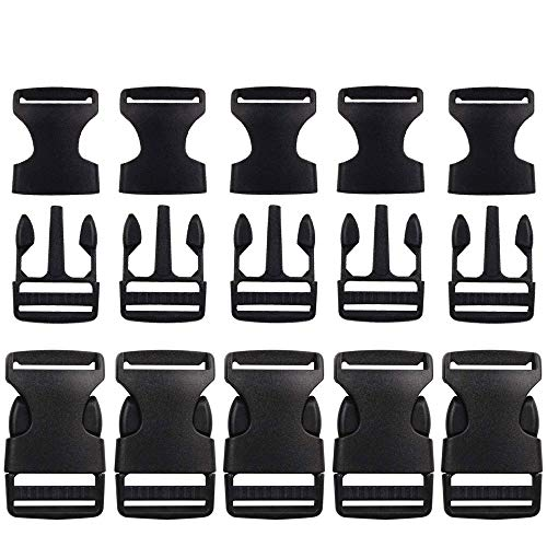 KRAFTZ® fettuccia nero in polipropilene 25mm x 50m di nastro multiuso per fai da te artigianale cintura zaino reggiatura grembiule bandierine