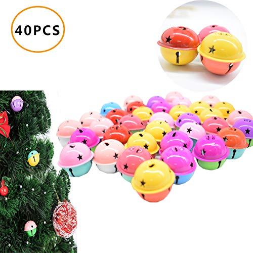 360 Pezzi 1/2 Pollici Jingle Bell Craft Massa Campanelli di Metallo per la Decorazione di Natale DIY