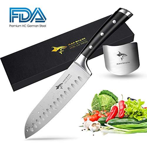 Ross Henery Professional Set di coltelli da Chef 9 Pezzi in Stile Giapponese e Acciaio Inox con Custodia Portatile
