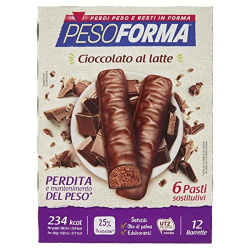 Marchio Amazon- Amfit Nutrition Barretta proteica al gusto di fondente al cioccolato,confezione da 12 (12x60g)