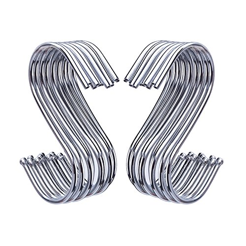Vvciic Ganci per Cappelli per Guardaroba Filo di Ferro Porta-Catena sovrapponibile Espositore per Cappelli Espositore per Abiti Cravatte Sciarpa Ganci per Appendere la Sciarpa