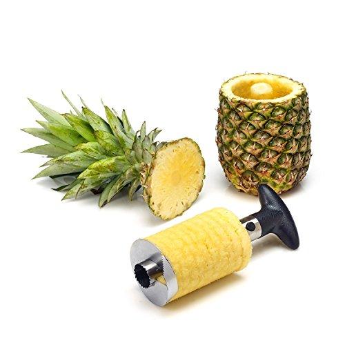 BlueBeach® Affettafrutta da Cucina Taglierino Rotante Snocciolatore per Mela e Pera