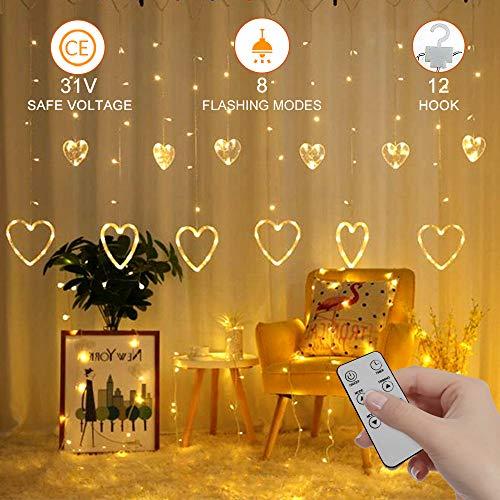 Lights4fun – Filo di 20 Micro LED a Pile su Cavo Metallico (Bianco Caldo)