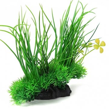 acquario piante artificiali erba decorazione per carro armato di pesci