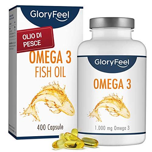 Omega 3 Fish Oil 2000mg, 700 mg EPA et 500 mg DHA Olio di pesce con Vitamina E. Aiuta a Migliorare e Proteggere la Vista, il Cervello e il Cuore. Regola il Colesterolo 120 Capsule N2 Natural Nutrition