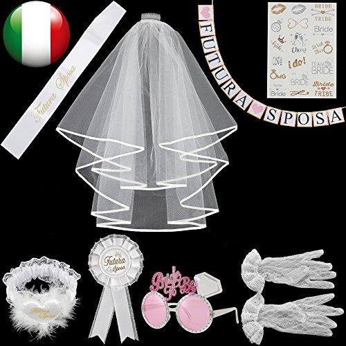 WOWOSS 100cm Fascia Nuziale per Capelli con Perline e Strass, Accessori per Capelli da Sposa Fascia Argento Lavorati a Mano
