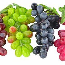 16 Mele Decorative, Rosse, Verdure Artificiali, Frutta, Frutta, Decorazione