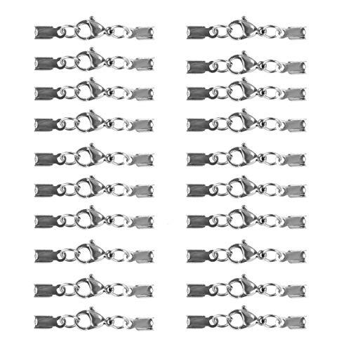 REKYO Ottone Tondo Gioielli Magnetici Chiusure per Collana Braccialetto Rendendo Magnete Converter