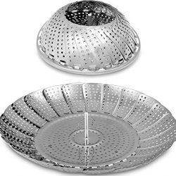 Reishunger cestelli per cottura a vapore, includono2Panni di cotone in 2diverse misure.