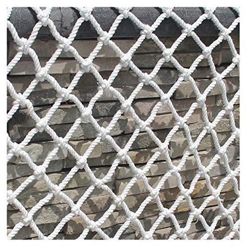 Rete di sicurezza per bambini scale balcone Corda Di Canapa Intrecciata A Mano Multi-funzione Decorazione Della Parete Rete Interna Del Balcone Ringhiera Recinzione Sicurezza Protezione Rete Netta Può