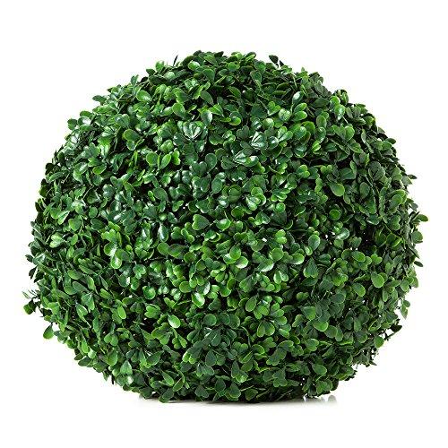 Gofriend, edera artificiale decorativa con foglie verdi, finta pianta rampicante; per matrimonio, giardino, decorazione da parete, 12 fili, 25 metri 2