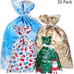 Weforu – 5 ganci in metallo per appendere la calza della Befana, ganci per albero di Natale, ganci girevoli antiscivolo per appendere oggetti per albero di Natale, camino, borse