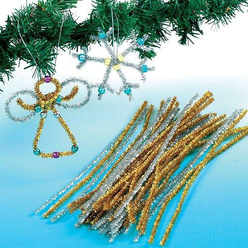 Clever Creations – Filo di Perle Decorativo – Decorazione Classica Natalizia con Perline da 8 mm infrangibili 2