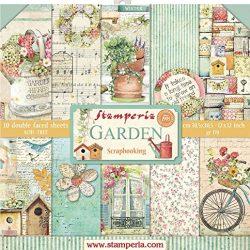 STAMPERIA DFSA4077 – Carta di riso, formato A4, motivo: uccelli e farfalle azzurre, multicolore, 29,7 x 21 cm