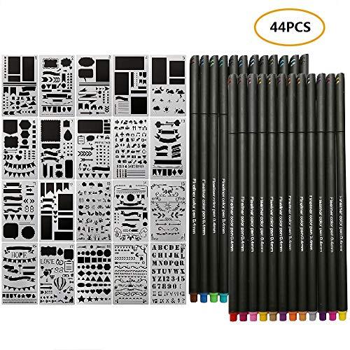 QBIX Fogli di Mylar – fogli di plastica per stencil 5 pezzi – fogli A3 trasparenti da 0,2 mm – foglio per stencil fai-da-te adatto per il taglio di stencil fai da te