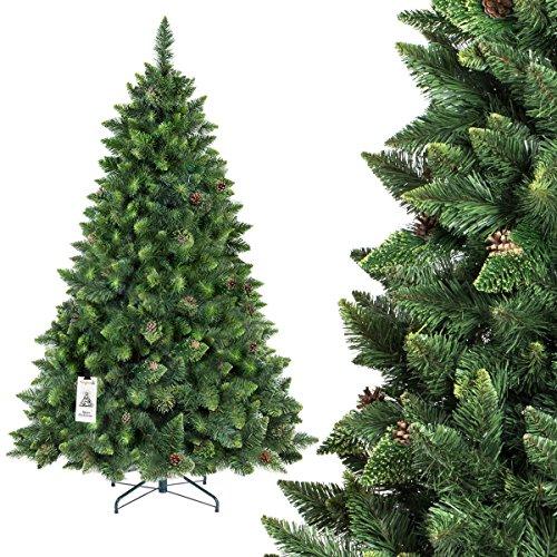 Decorazione natalizia Albero di Natale Supporto di ferro Design pieghevole a quattro gambe