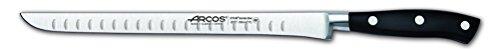 Arcos Serie Riviera – Coltello Prosciutto – Acciaio Inossidabile Forgiato Nitrum 250 mm – Manico Polioxymetilene (Pom) Colore Nero 2