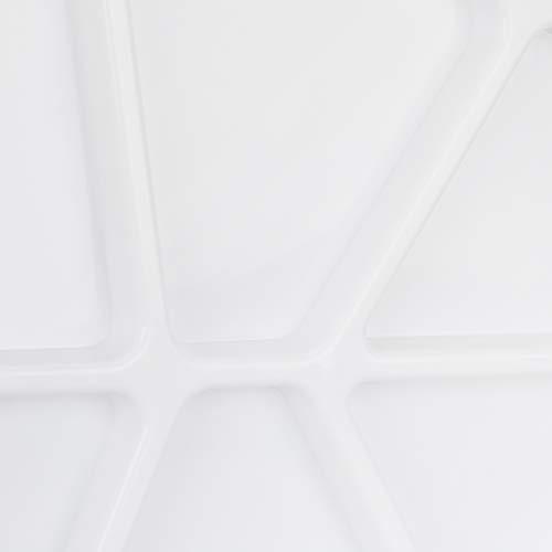 Shappy 2 Pezzi Tavolozze di Legno di Pittura Forma di Ovale Tavolozza da Artista Olio Acrilico Tavolozza per Pittura