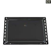 Electrolux 353193921/7 – Teglia da forno, dimensioni (L x l x A) 422 x 370 x 20 mm, colore: Nero 2