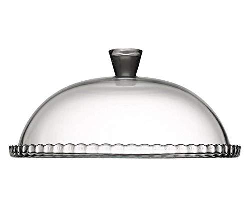 SWEET HOME Piatto Torta Dolci con Campana Cupola Cloche in Vetro cod.2195119 cm 15h diam.32 by Varotto & Co. 4
