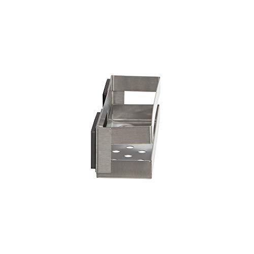 COMPACTOR Porta spezie magnetico, Fino a 1,5 kg, Acciaio inox, Argento, 20.5 x 6 x H.6 cm, RAN8201 3