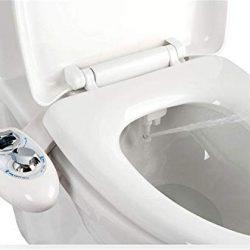 IBAMA Bidet, Bidet per WC per l'igiene Intima con Funzione di Pulizia (Bianca-01)