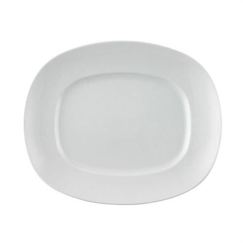 Thomas' Amici – Targa Quadrata da 33 cm, Colore: Bianco