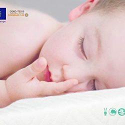 riduttore lettino neonato antisoffoco – riduttore culla per neonato materassino ergonomico bozzolo 90 x 60 cm 2