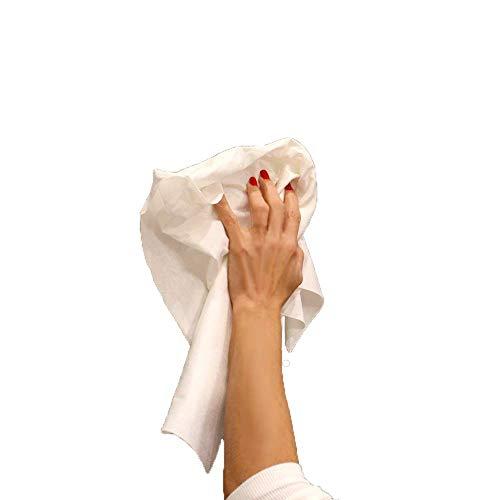 MEDICAL SUD PROFESSIONAL 50 Panni Asciuga Monouso in Non Tessuto Assorbente Morbido e Resistente Cm 30 x 40 Made in Italy
