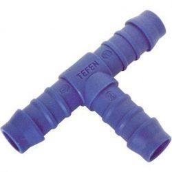 8mm 5/40,6cm T Piece Tefen plastica nylon spinato connettore tubo pari carburante gomma di raccordo per tubo flessibile Inline riparazione
