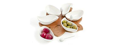 com-four® Mini cestini e ciotole per servire patatine fritte e altri snack, cesto da portata, 14 x 11 x 7 cm 2