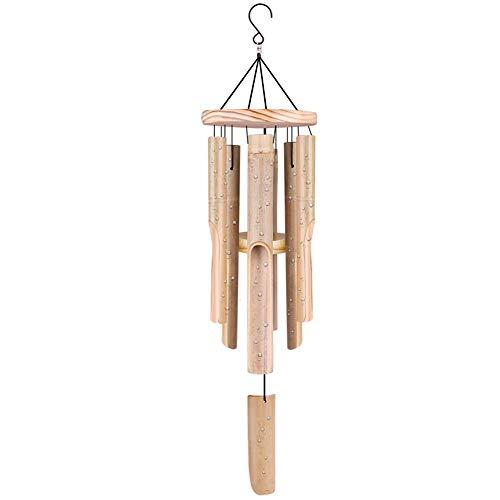 Scacciaspiriti in bambù per esterni e interni con suono rilassante naturale