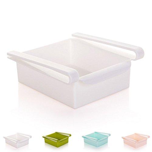 Uzinb Multi Function ABS Refrigerator Storage Box Sliding Drawers Design Storage Box 3