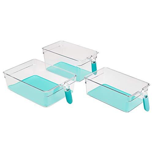 AmazonBasics – Contenitori per frigo con manici, 6 pezzi