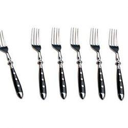 6forchette da tavola Bistro Serie di posate–forchetta da bistecca forchette in della Serie Kerafactum 2