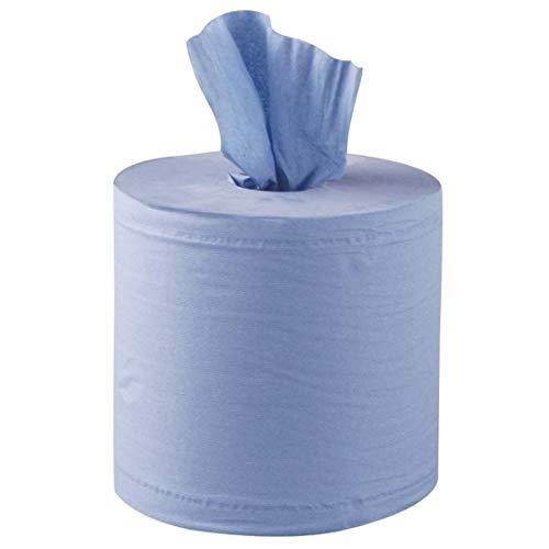 Jantex dl921Rotolo di carta, colore: blu (Confezione da 6) 2