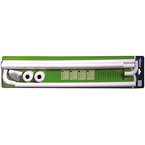 Wenko angolo asta Universal – alluminio, diverse lunghezze, Ø 2 cm