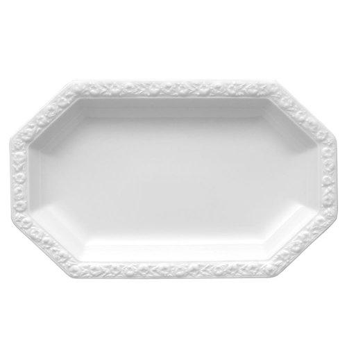 Rosenthal 10430-800001-12728 – Piatto da Portata Maria, 28×17 cm, Colore: Bianco