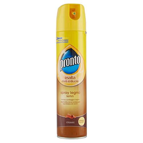 Pronto Classic Spray, Detergente Spray per Superfici in Legno – 1 Confezione da 300ml