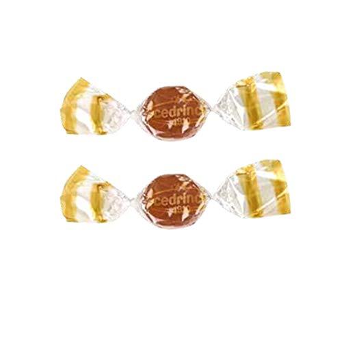 Mental Zenzero Arancia 16 Astucci. Caramelle Senza Glutine, Senza Coloranti, con Zucchero di Canna Grezzo. Solo Aromi Naturali. Confezione da 16 Astucci