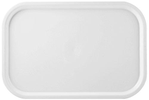 Giganplast Vassoio Gilly 57X38 Gig 8500 Arredo Tavola, Bianco, 57×38 cm