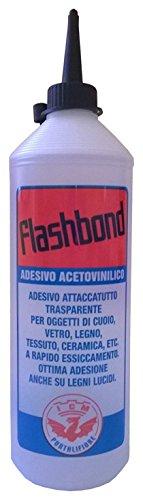 Bricoshopping FlashBond Colla Acetovinilica Attaccatutto Universale, Trasparente
