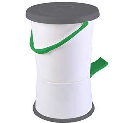 Bo-Camp – Lavatrice a pedale, bianco/verde/grigio