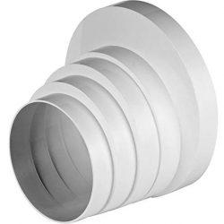 Ø 100110120125150mm Riduttore Riduttore Riduzione passaggio tubo di ventilazione tubo tondo ventilazione ventilazione ventilatore canale universale RKO Ø 100–150mm 2