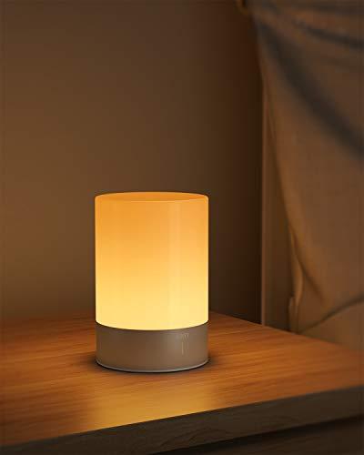 AUKEY Lampada da Comodino RGB Ricaricabile con 3 Luminosità 6