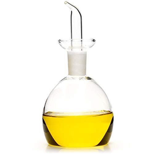 Classe Italy Oliera salvagoccia Redonda Dosatore Olio e Aceto, 250 milliliters, Vetro 2