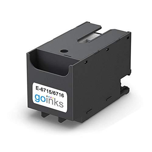 Go Inks E-6715 Scatola/Serbatoio di Manutenzione dell'inchiostro per sostituire Epson T6715 (Kit di Manutenzione) Compatibile/non-OEM (Confezione da 1)